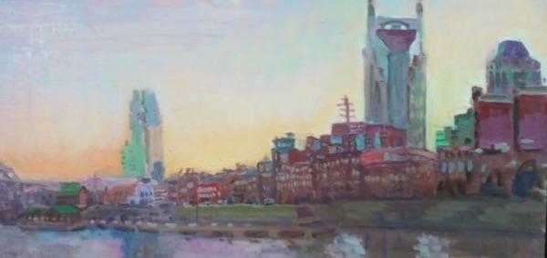 Nashville Across River